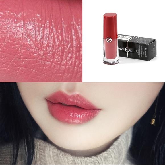�ล�าร���หารู��า�สำหรั� Giorgio Armani Lip Magnet Second Skin Intense Matte Color 506 Fusion